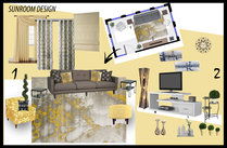 Transitional Living & Dining Room Muhammad H. Moodboard 1 thumb