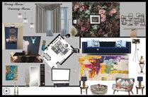 Glamorous Living/ Dining Room Muhammad H. Moodboard 1 thumb