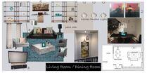 Glamorous Living/ Dining Room Brianna S. Moodboard 2 thumb