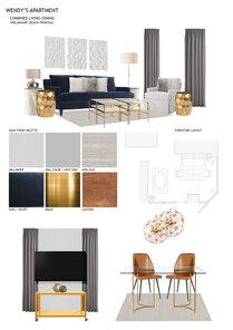 Sleek & Warm Apartment Mladen C Moodboard 2 thumb