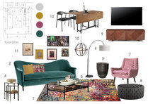 Jos Eclectic Living Room Anna T Moodboard 2 thumb