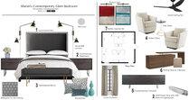 Romantic Master Bedroom Tiara M. Moodboard 1 thumb
