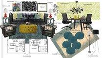 Mid century modern office design help Danielle A. Moodboard 1 thumb