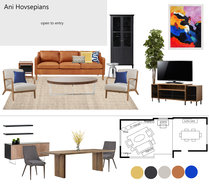 Eclectic and Cozy Living Room Transformation Ivonne T. Moodboard 1 thumb