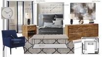 Modern and Sleek Bedroom Danielle A. Moodboard 2 thumb