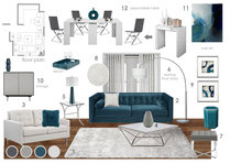 Polished Living Room Anna T Moodboard 2 thumb