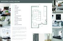 Bright Modern Living Room Serena Z.  Moodboard 2 thumb