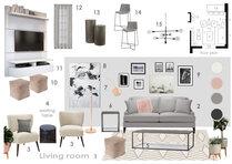 Bright Mid Century Modern Living Room Anna T Moodboard 2 thumb