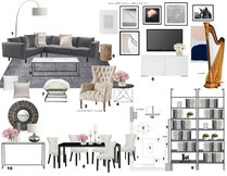 Chic Contemporary Apartment  Laura A. Moodboard 2 thumb