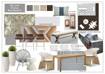 Warm Contemporary Full Home Design Hannah D. Moodboard 1 thumb