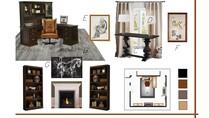 Modern Elegant Home Office Danielle A. Moodboard 2 thumb