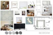 Calming Transitional Bedroom Sarah B. Moodboard 1 thumb