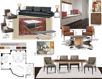 Cozy Traditional Living & Dining Picharat A.  Moodboard 2 thumb