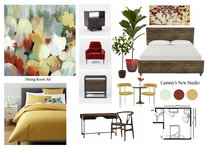 Colorful Eclectic Bedroom Catz D. Moodboard 1 thumb