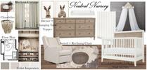 Soft Neutral Nursery Design Tera S. Moodboard 2 thumb