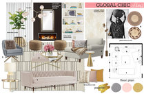 Rustic Living and Dining Ibrahim H. Moodboard 1 thumb