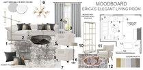 Elegant and Sophisticated Living Room Tamna E. Moodboard 2 thumb