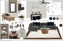 Sophisticated Living/Dining Transformation Rachel H. Moodboard 2 thumb