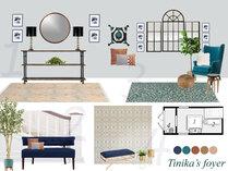 Elegant and Contemporary Entryway Amisha D. Moodboard 1 thumb
