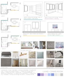 Transitional Living and Dining Room Design Sarah B. Moodboard 1 thumb