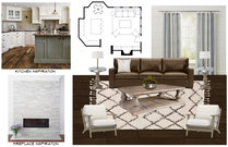 Stylish Eclectic Living Room and Kitchen Design Brittany J. Moodboard 2 thumb