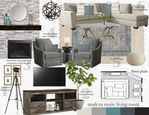 Transitional Bright Living Room & Dining Room  Angela S. Moodboard 1 thumb