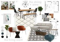 Amazing scandinavian living/dining room  Anna T Moodboard 2 thumb