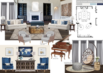 Transitional Blue Accented Living Room Picharat A.  Moodboard 2 thumb