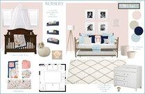 Girl Nursery Room Rachel H. Moodboard 1 thumb