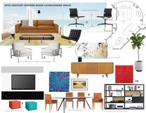 Lux Miami feel living & dining room Laura A. Moodboard 2 thumb