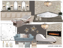 Basement Transformation into Relaxing Home Spa Laura A. Moodboard 2 thumb