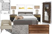 Simple to Modern Bedroom  Neerja L. Moodboard 1 thumb