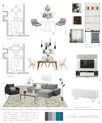 Soothing bedroom and living space Sarah B. Moodboard 1 thumb