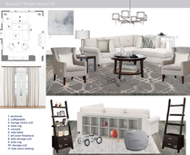 Warm Cohesive Home Transformation Jessica S. Moodboard 1 thumb