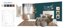 Eclectic Stylish Bedroom Brianna S. Moodboard 2 thumb