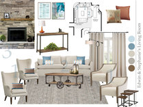 Transitional Bright Living Room & Dining Room  Amisha D. Moodboard 2 thumb