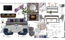 Contemporary Rustic Living Dining  Noraina Aina M. Moodboard 2 thumb