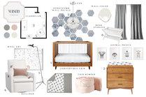 Geometric Modern Nursery Design MaryBeth C. Moodboard 2 thumb