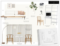 White Contemporary Living Room Eleni P Moodboard 2 thumb