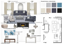 Gray Tones for Transitional Living Room Rajna S. Moodboard 1 thumb