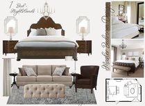 Transitional and Tropical Style Master Bedroom Tera S. Moodboard 2 thumb