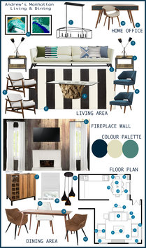 Eclectic and Modern Living Room Tamna E. Moodboard 2 thumb