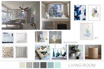 Modern Livingroom  Sarah B. Moodboard 2 thumb