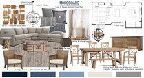 Modern Farmhouse Living/Dining Room Tamna E. Moodboard 1 thumb