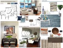 Striking Modern Home Interior Design Picharat A.  Moodboard 2 thumb