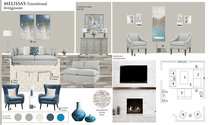 Transitional Living Room with Blue Accents Tijana Z. Moodboard 2 thumb