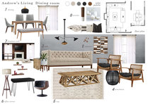 Eclectic and Modern Living Room Marina S. Moodboard 1 thumb