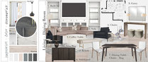White and Neutral Living Room Design Lauren A. Moodboard 1 thumb
