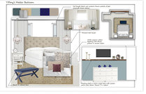 Transitional with Neutral Colors Master Bedroom Betsy M. Moodboard 2 thumb