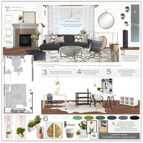 Fun contemporary face lift living room Sonia C. Moodboard 1 thumb